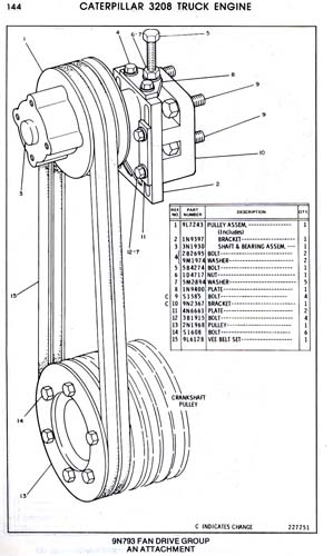 3208 cat engine pulley diagram 3208 cat engine wiring diagram