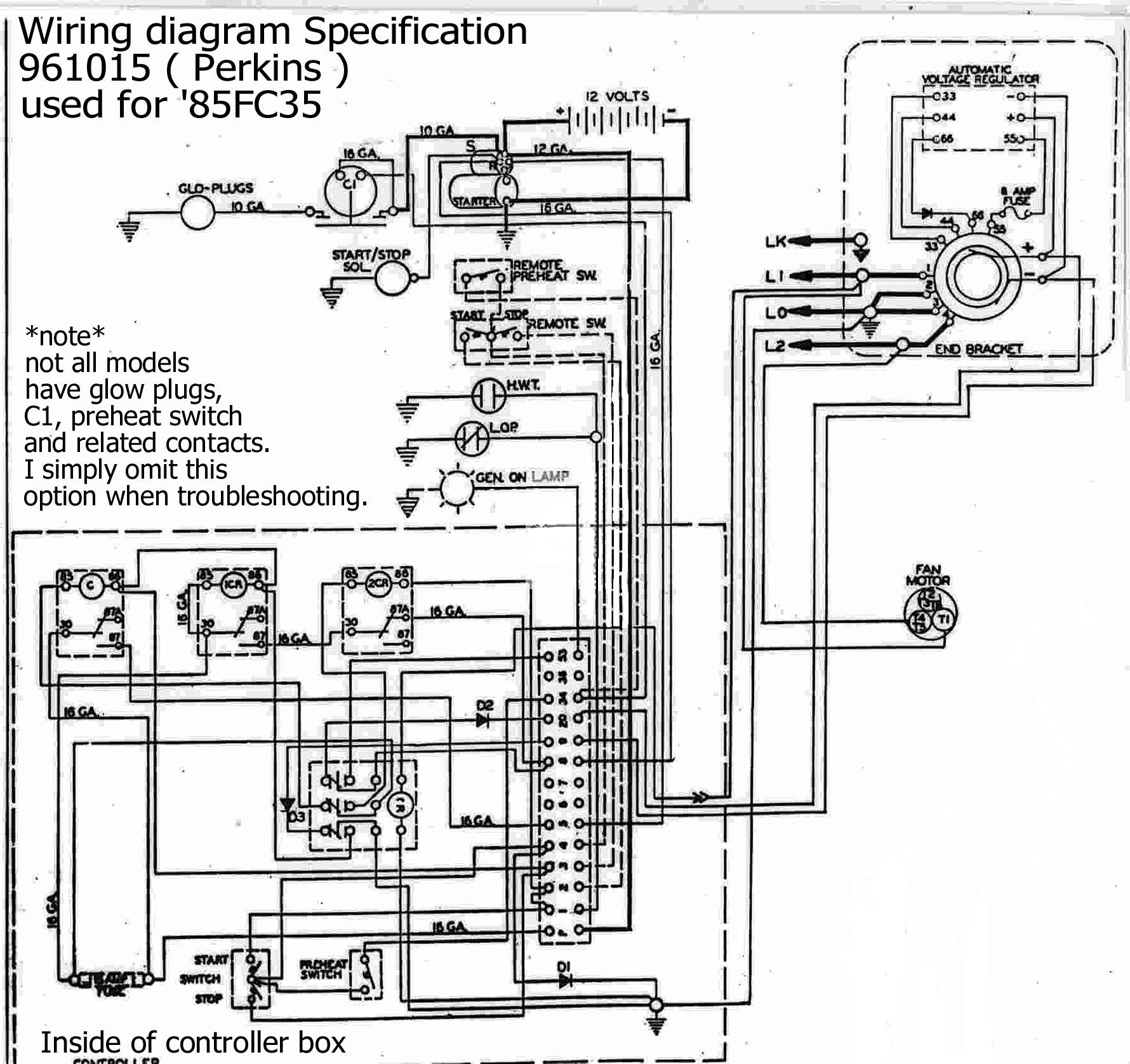 perkins genset engine  u0026 kohler manuals and information