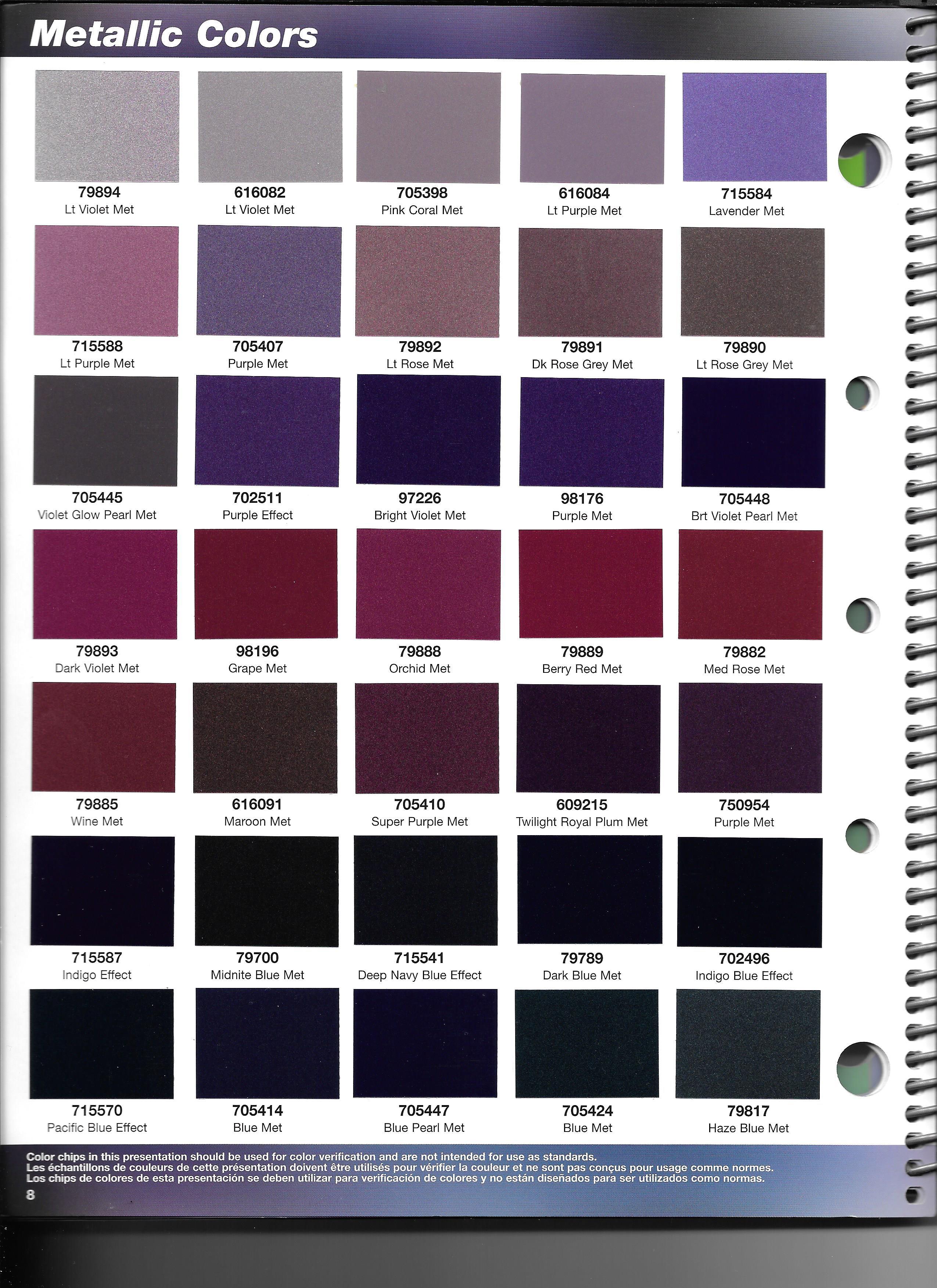 Basf Paint Color Chart Related Keywords - Basf Paint Color ...