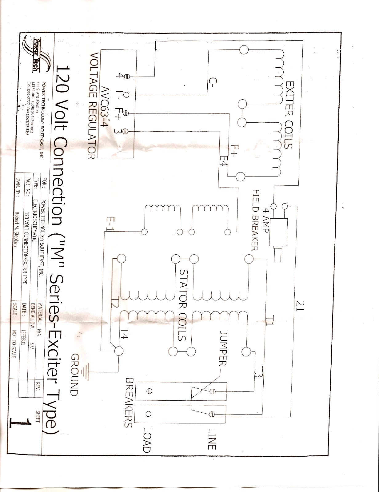 120V VOLTAGE REGULATOR DIAGRAM powertech generators files & factory information wanderlodge woodward solenoid 1751es wiring diagram at soozxer.org