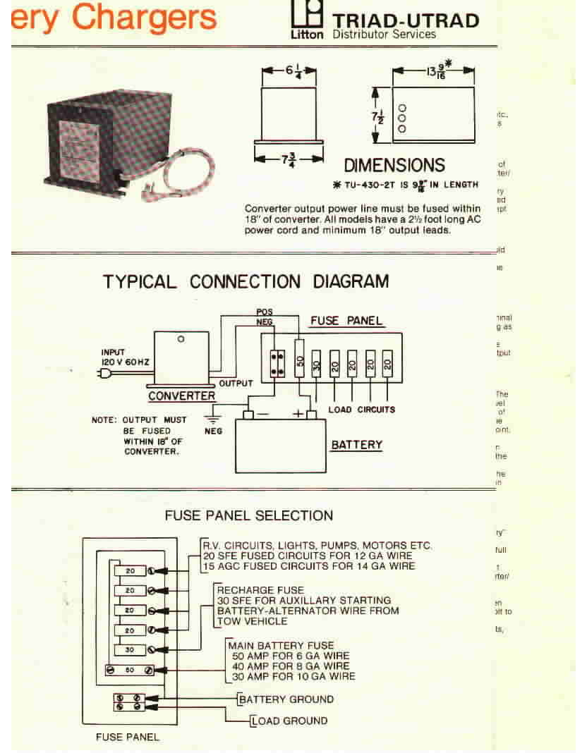 Wiring Diagram For Rv Inverter