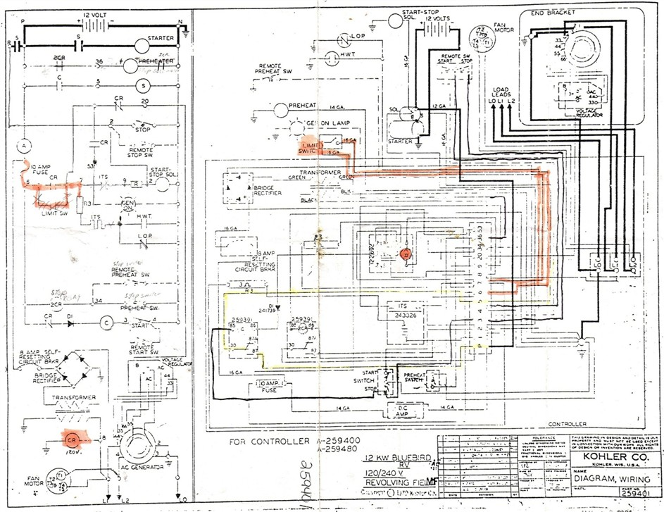 KOHLER WIRING DIAGRAM kohler ch25s wiring diagram diagram wiring diagrams for diy car kohler dec 1000 wiring diagram at edmiracle.co